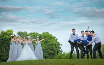 V视觉婚礼摄影【首席双机摄影】精修100婚礼跟拍
