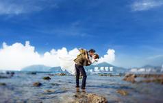 秀摄影风格——海景纪实旅拍