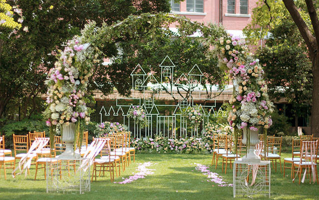 意匠婚礼策划-户外 公主风城堡