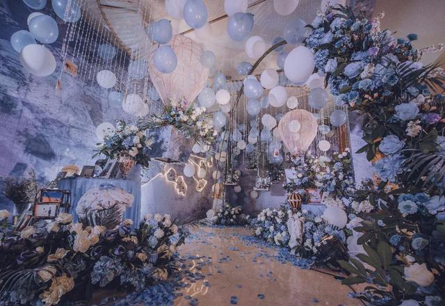 浪漫气球婚礼【乘着气球去结婚】