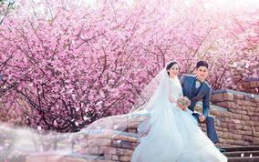 【慕思国际婚纱摄影】—— 浪漫花海  帅气马场