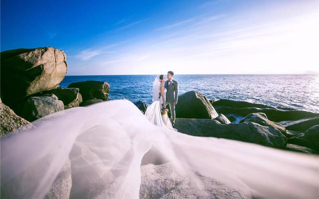 法式印象婚纱摄影三亚店最新客片分享