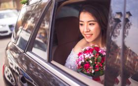 婚车中一瞥--父母的不舍与欣慰