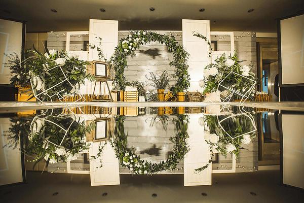 梵盛婚礼案例 | 森系 | 明镜