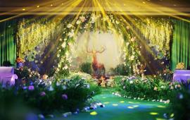 花海婚礼 / 麋鹿森林 · 森系