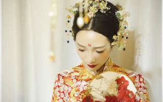 爱慕新娘造型