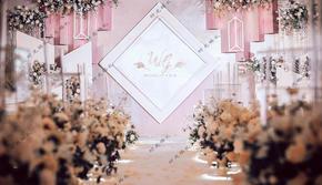 【时光婚礼策划】粉色系——唯美线条