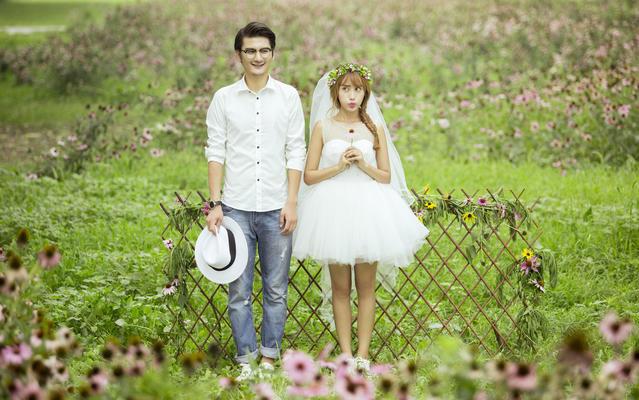 婚纱照 遇见爱 定制 婚纱摄影 幸福 旅拍