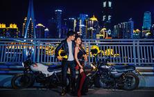 金夫人│城市旅拍-重庆网红景点3D场景婚纱照