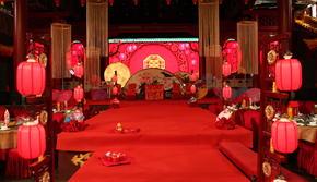 【乐乐婚礼】喜庆热闹中式婚礼四大+花车装饰全包