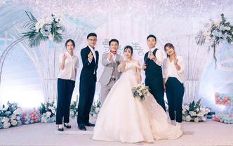 司仪子超+女歌手+小提琴+萨克斯风+督导+DJ