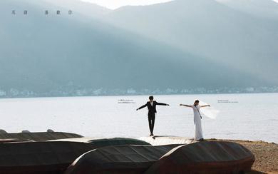 大理定制婚纱旅拍系列,打卡大理苍山洱海网红款c