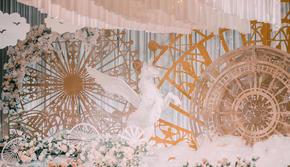 合肥爆款婚礼定制套系 梦中白马超梦幻主题婚礼
