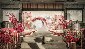 花沐婚礼 | 摩登艺术风,奢华复古高端婚礼