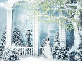 唯美婚纱照[巴黎风情国际婚纱摄影]之梦幻之约