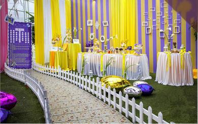 艾斯薇婚礼会馆婚礼策划—大熊与兮兮的粉色约定