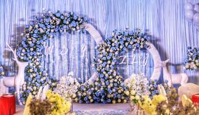 【时光礼婚礼studio】蓝色物语(四大婚纱)