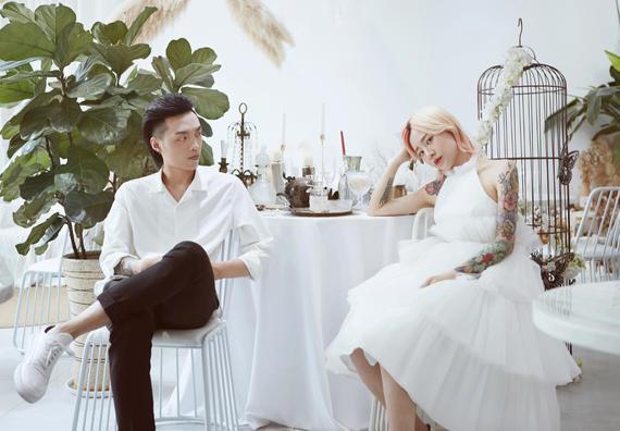 半定制系列丨明星时尚大片婚照