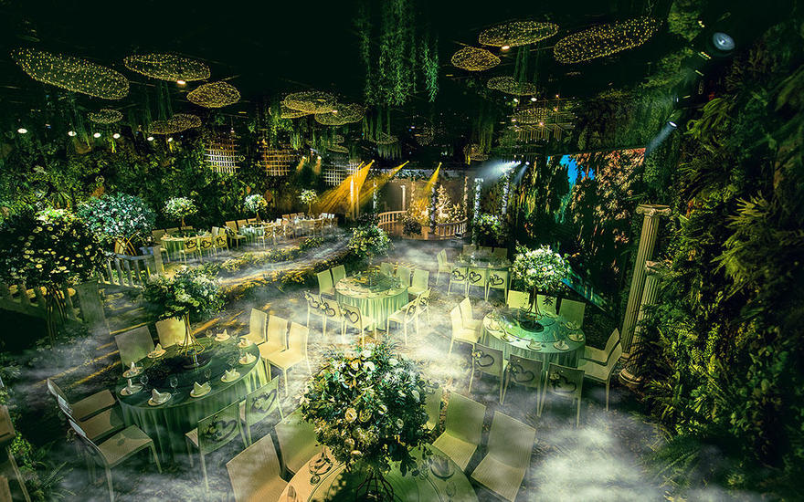 【禧合酒店】森系厅--原始童话  绿色森林