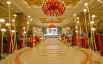 DT简约婚礼定制——17年经济实惠香槟色龙珠婚礼路引