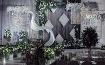 【瀚棠艺术婚礼】浪漫婚礼森系布置【秘密花园】
