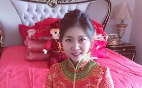 中式出门新娘造型