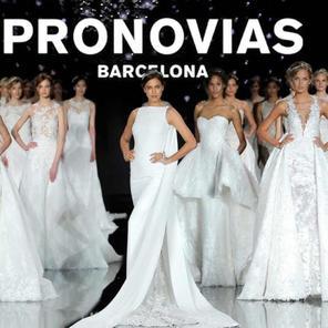 蕾蕾&PRONOVIAS婚纱礼服
