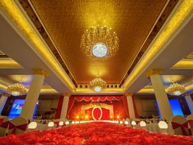 红金色经典主题婚礼,年底惊爆价6888