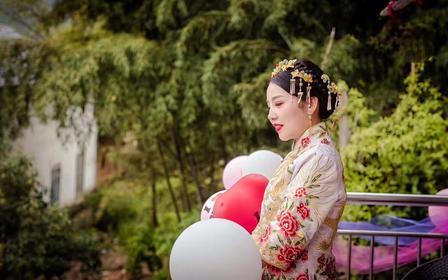 【花漾】时尚气质新娘全天跟妆 一线化妆品牌