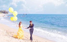 三亚丨美丽嫁·【天涯海角-告白气球】