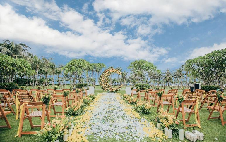 微奢婚礼 | 橙月 纯场景布置 超高性价比之选