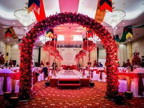经典红色系主题婚礼(超值一站式)