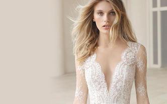 【卡诺】婚纱三件套 该有的咱都有