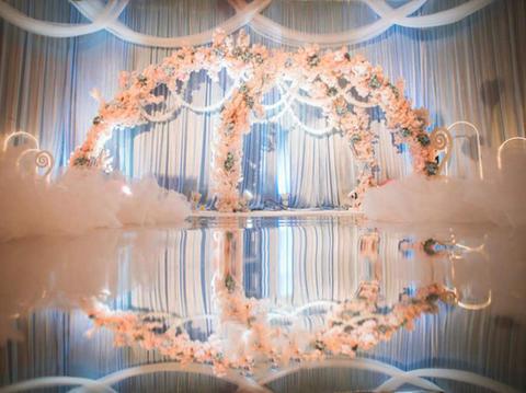 『蒂琳婚礼企划』蓝粉小清新婚礼 含四大金刚