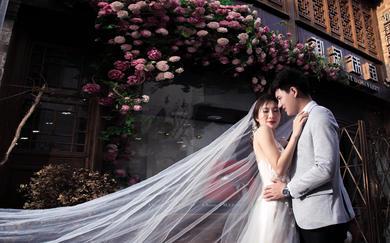 唯美婚纱摄影—<老门东街拍>