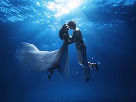 【八月花尊】水下婚纱照