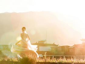 去洱海----看日出日落(唯一一家客照样片)