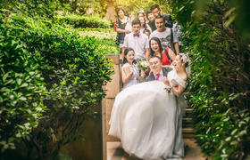 菩猫婚礼摄影 -- 爱你如夏日绿色般浓郁葱茏