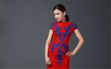 """经典的中国风改良旗袍·(二)-""""红颜"""""""