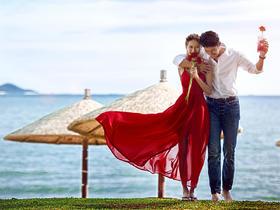 时尚经典全球旅拍--唯美海景婚纱照