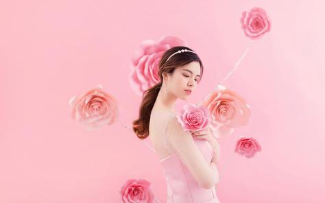 粉色情人节❤喜欢你的每一天里被你喜欢是最甜蜜的