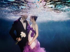 水下浪漫婚纱照