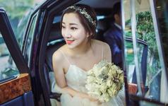 【诗莹时尚新娘造型】为新娘量身定制的手工饰品哦