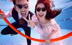 三亚旅图婚纱摄影【客片欣赏】浪漫水下