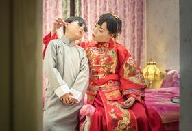 卡特婚礼影像汉式婚礼作品:三生石上