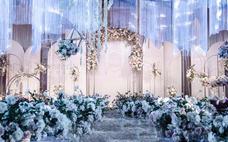 纯恋婚礼---韩式质感粉白色系婚礼