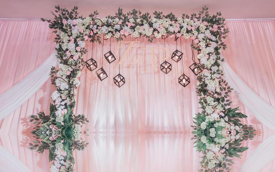 【诺时尚】婚礼策划——海韵楼|粉色樱歌