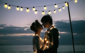 蒙娜丽莎映像婚纱摄影工作室---夜景系