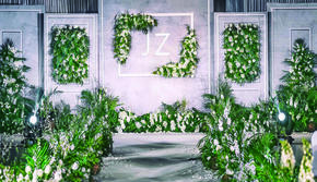 椰岛之恋|大理石主题婚礼