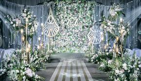 白绿色小清新ins风 小预算超值婚礼